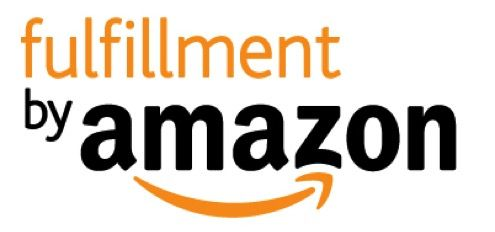 Graphic of the Fulfillment by Amazon logo, in black and orange