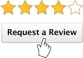 Screenshot of request review button